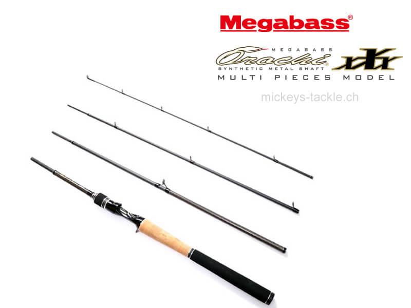 Megabass OROCHI XXX, F4-610K 4P BLACK ELSEIL II